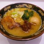 59233344 - 龍神そば(790円)煮玉子(120円)