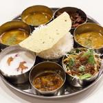ナヤ インディア ヌール - 料理写真:ランチミールス