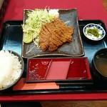 牛カツ東京 - 牛カツ定食