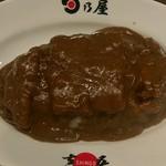 Hinoyakare - メンチカツカレー(840円)