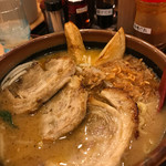 味噌蔵 麺四朗 - 北海道炙りチャーシュー。