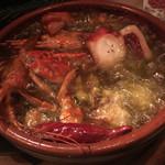 イタリアンバルLocco - 魚介のアヒージョ