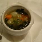 トラットリア・クラウディア - 冬季限定 イタリア産黒キャベツのズッパ