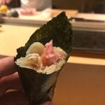 天鮨 - ねぎトロ手巻き
