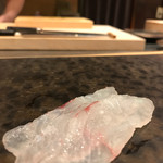 天鮨 - 真鯛刺身