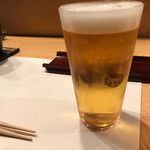天鮨 - 生ビール
