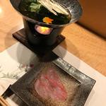 天鮨 - 金目鯛のしゃぶしゃぶ   小鍋