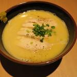 二◯加屋長介 - 鶏白湯あつかけうどん1