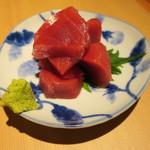 二◯加屋長介 - 本鮪ブツ切り1