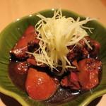 二◯加屋長介 - 鶏肝煮2