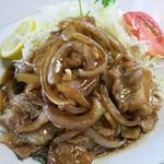 松ノ木食堂 - 焼肉定食のアップ