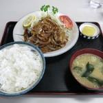 松ノ木食堂 - 『焼肉定食』七五〇円(税込[8%])