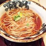 蕎麦 魯庵 - おそば(温)