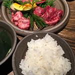 但馬屋イーマ - こだわり食べ比べ焼肉ランチ☆