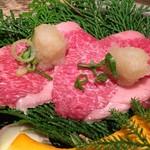 但馬屋イーマ - こだわり食べ比べ焼肉ランチ☆ おろしで焼肉 そのまま推奨