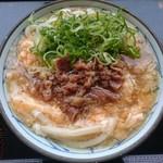 丸亀製麺 - 肉あんかけうどん