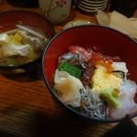59243028 - 初島ランチ(海鮮丼とあら汁)
