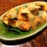 蕎麦バル 1351 - 鶏の梅しそ揚げ