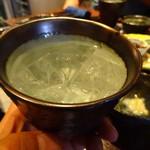 蕎麦バル 1351 - 山椒焼酎ぴりっと