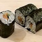 鮨 米倉 - 貝ヒモと大葉の巻物