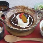 Cafe Restaurant アドリア - 土鍋バーグ膳
