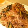 韓国家庭料理 ふる里 - 料理写真:素麺とキムチの和え物