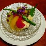 壱乃藏 - アワビの何とか とても柔らかくて美味しい