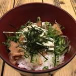 柳屋 - ミニ焼豚丼