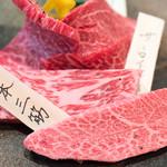 肉のすずき - 2016.11 和牛特選盛(200g 5,000円)