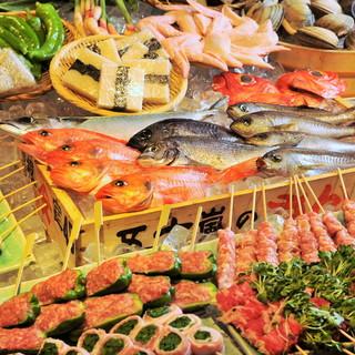 毎日、旨い鮮魚を直送で仕入れ!