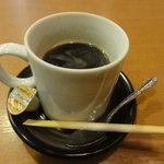 海の幸 磯の坊 - メニューには書いてなかったんですが、アフターコーヒーが・・・