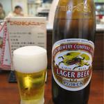 天龍 - 201611 「ビール大瓶」(560円)