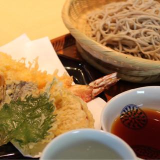 蕎麦さとう - 料理写真:天せいろ