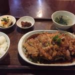 Yuujin - 油淋鶏定食730円