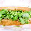 バインミー☆サンドイッチ - 料理写真:上から