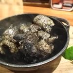 59257600 - 「地頭鶏炭火焼」 980円