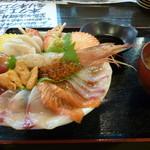 居酒屋 ぎょっぷ - 赤鬼海鮮丼定食