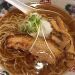 芯せかい - 魚介芸の旨いスープでした。