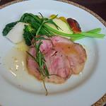 Bistro TOKI - 糸島豚のローストポーク・ハーブソース マッシュドポテトを添えて