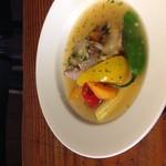 taverna ichi - 軟骨付き豚バラの白ワイン煮