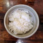 らーめん なぶら - 料理写真:半ライス100円