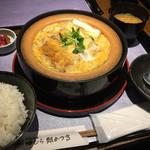 田むら 銀かつ亭 - 豆腐かつ煮定食