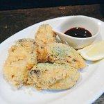 アボカド牡蠣フライ