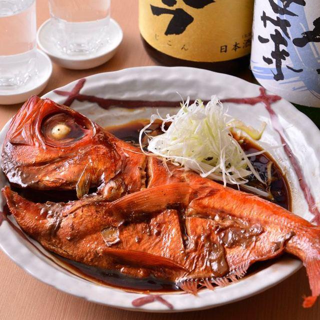 金目 鯛 塩焼き