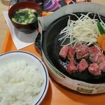 ペッパーランチ - サービスステーキ