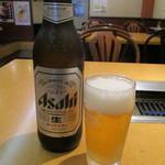 59270077 - 瓶ビール(大瓶) 580円 (2016.10)