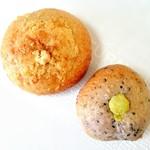 noRo - シナモンシュガー 240円 & 紫ベーグルお芋入り(ハーフ) 190円