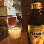 59270632 - 勿論ビールも!!                       ビールはプレモルでした(^-^)/