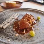 メゾン ラフィット - 肉:鴨(しっとり旨み★)ポルチーニソース、里芋パテ添え