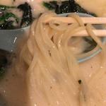 丸花 - 丸花 塩豚骨ラーメン 麺